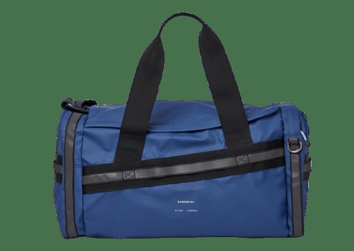 Blue Leopold duffel bag from Sandqvist.