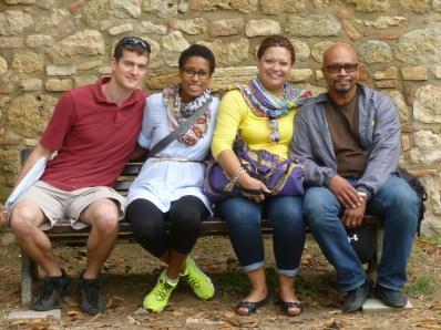 Family Shot! - San Gimignano, Italy