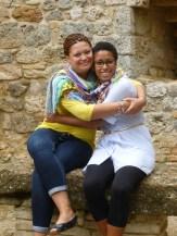 My Mom and I - San Gimignano, Italy