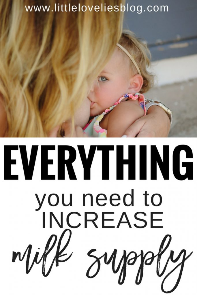 everything you need to increase milk supply in 24-48 hours