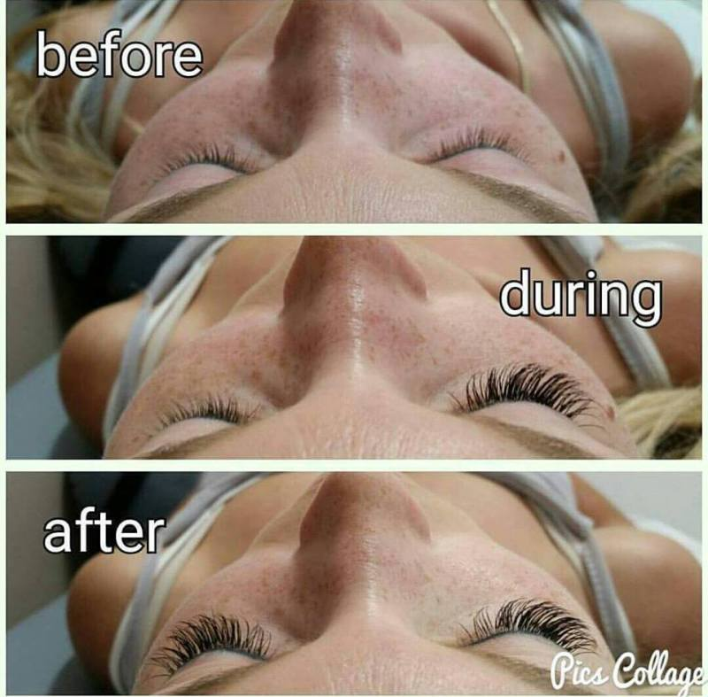 amazing lash studio lubbock texas before and after eyelash extensions