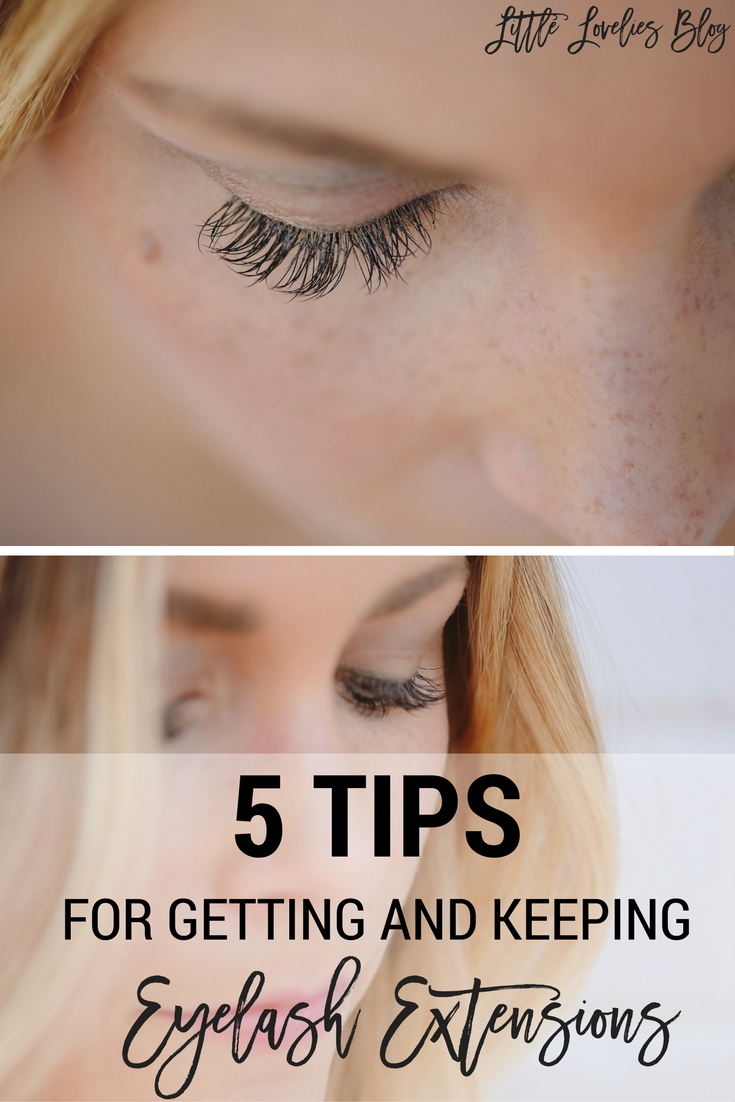 5 Tips For Getting And Keeping Eyelash Extensions Little Lovelies Blog