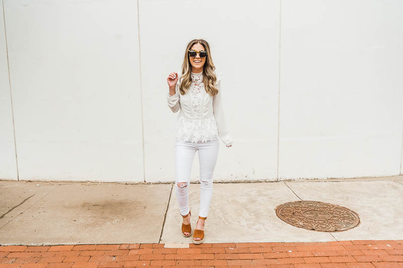 Spring Trends – White on White