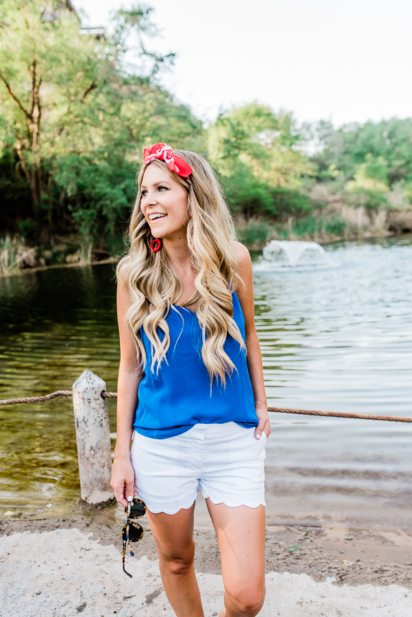 MEMORIAL DAY PATRIOTIC OUTFIT RED WHITE AND BLUE