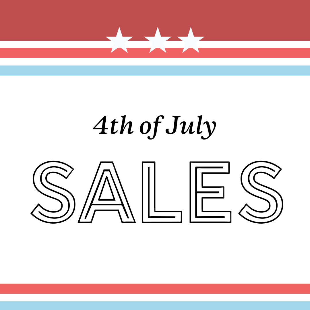 June Top 10 Purchases + 4th of July Sales