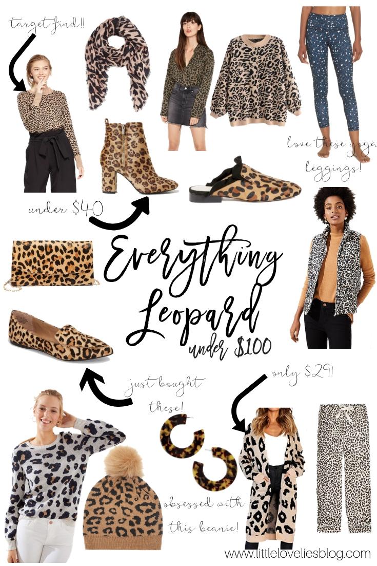 Leopard Print Loves Round-Up- Under $100