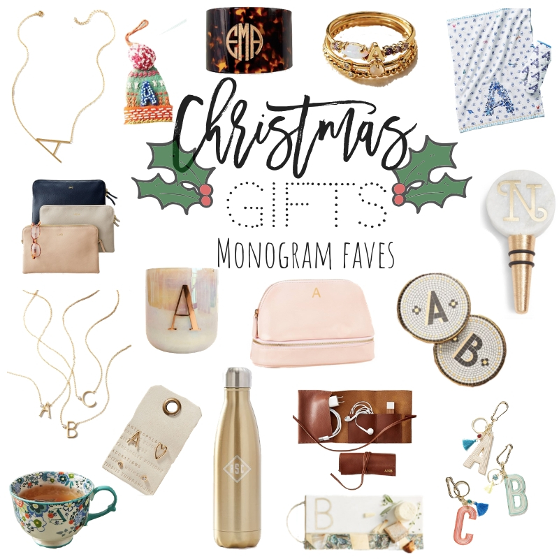 Holiday Gift Guide | Monogram Faves + Some More Sales