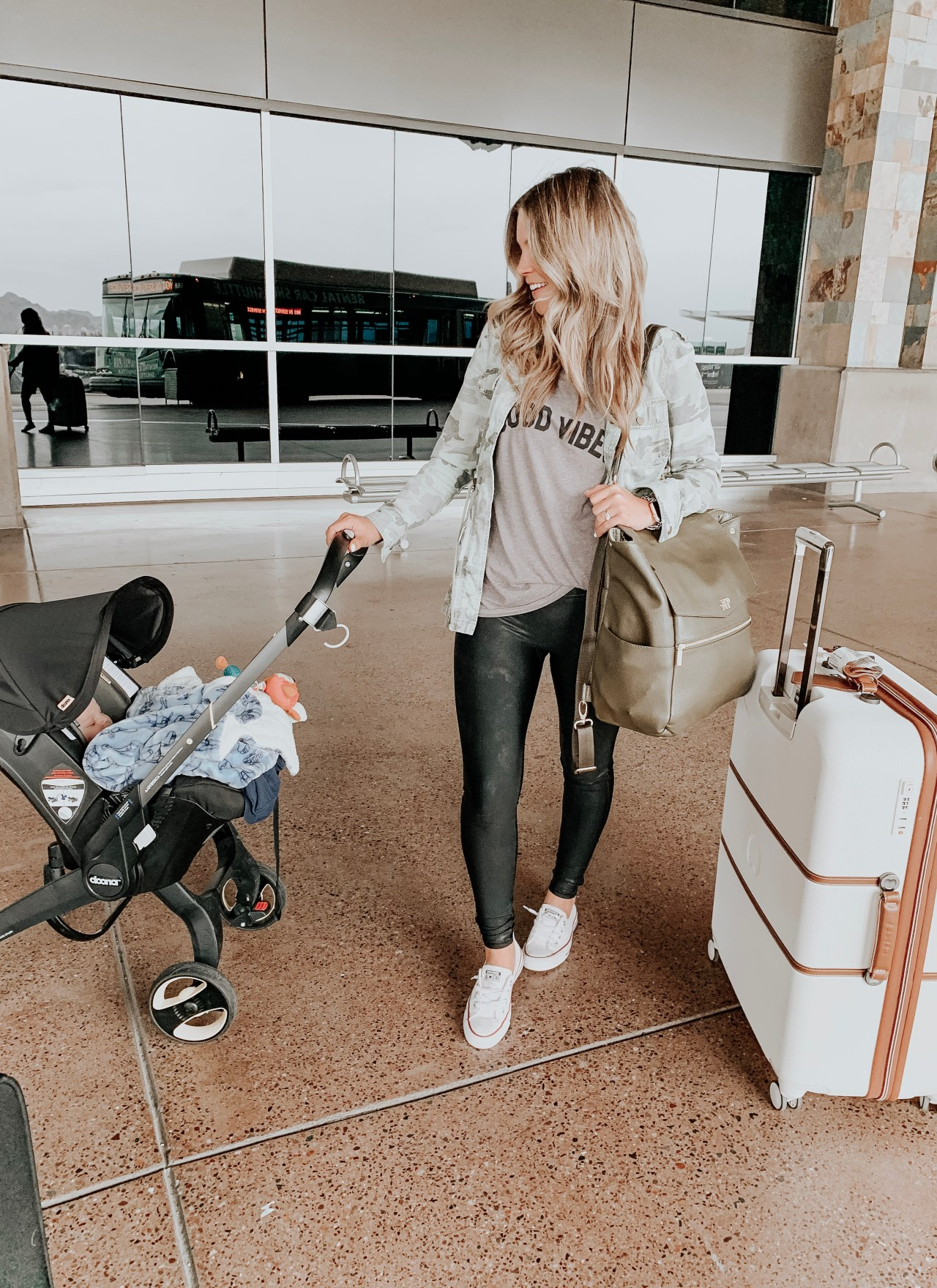 Tips for Airplane Travel with a Baby