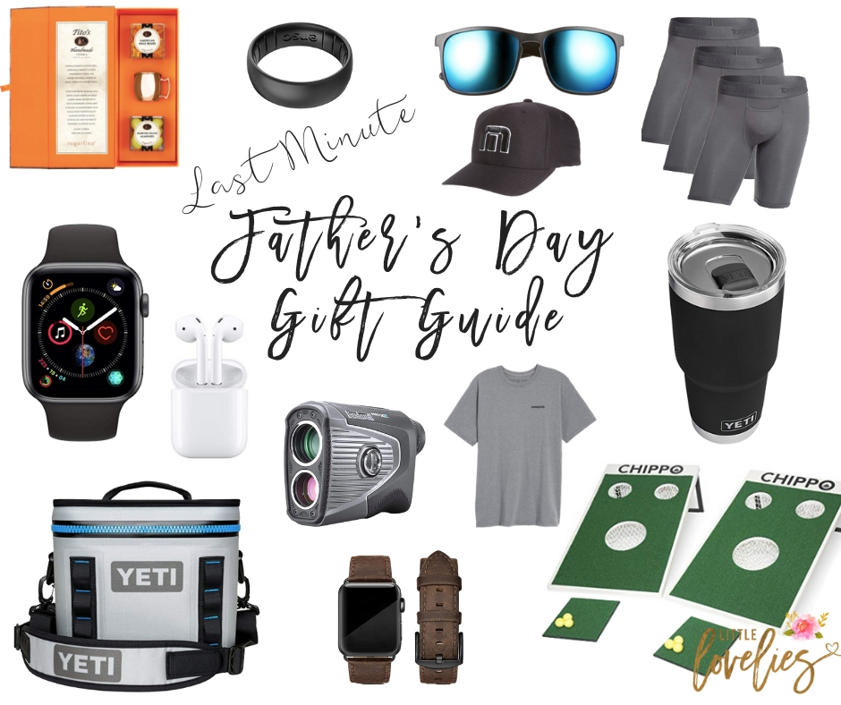 Last Minute Father's Day Gift Ideas with Free Shipping