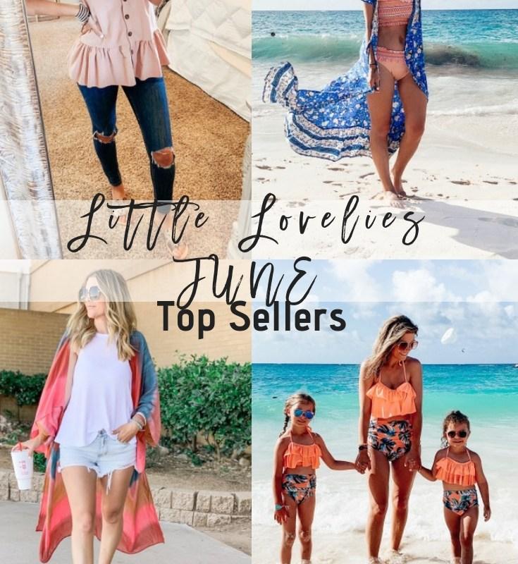 June Top Sellers + July 4th Sales