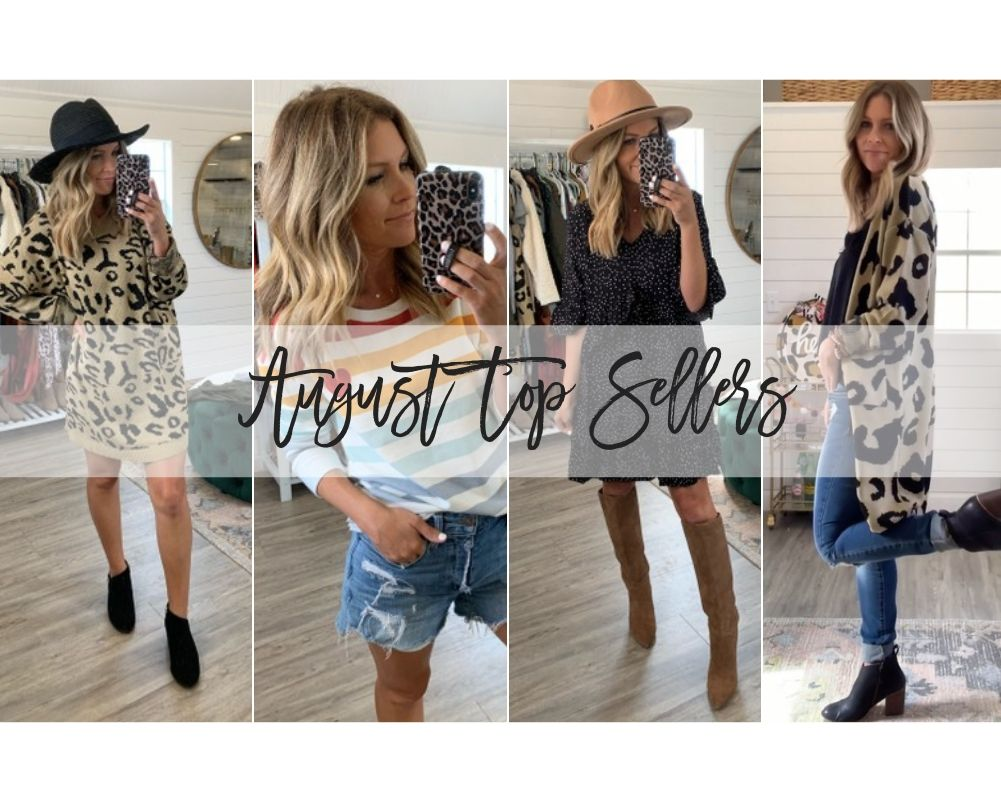 Life & Style Blogger Ashlee Nichols shares her Top Sellers from the month of August.