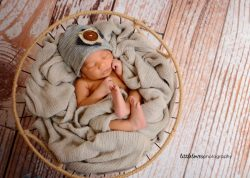 Cuddly Newborn Beau - Newborn Photography, Richmond VA