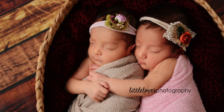 Meera & Reeva {8 days new} – Newborn Photography – Richmond, VA