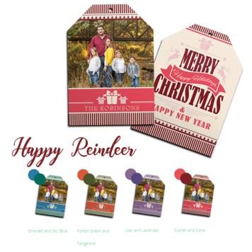 C Happy Reindeer