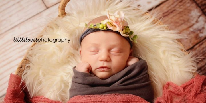 Hayley {10 days new} – Newborn Photography – Richmond, VA