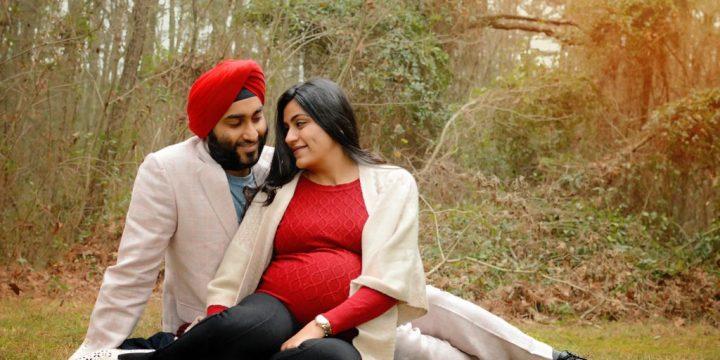 Karan & Simran {maternity}  – Family Photography – Richmond, VA
