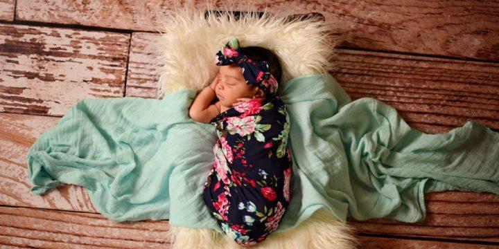 Ava {9 days new} – Newborn Photography – Richmond, VA