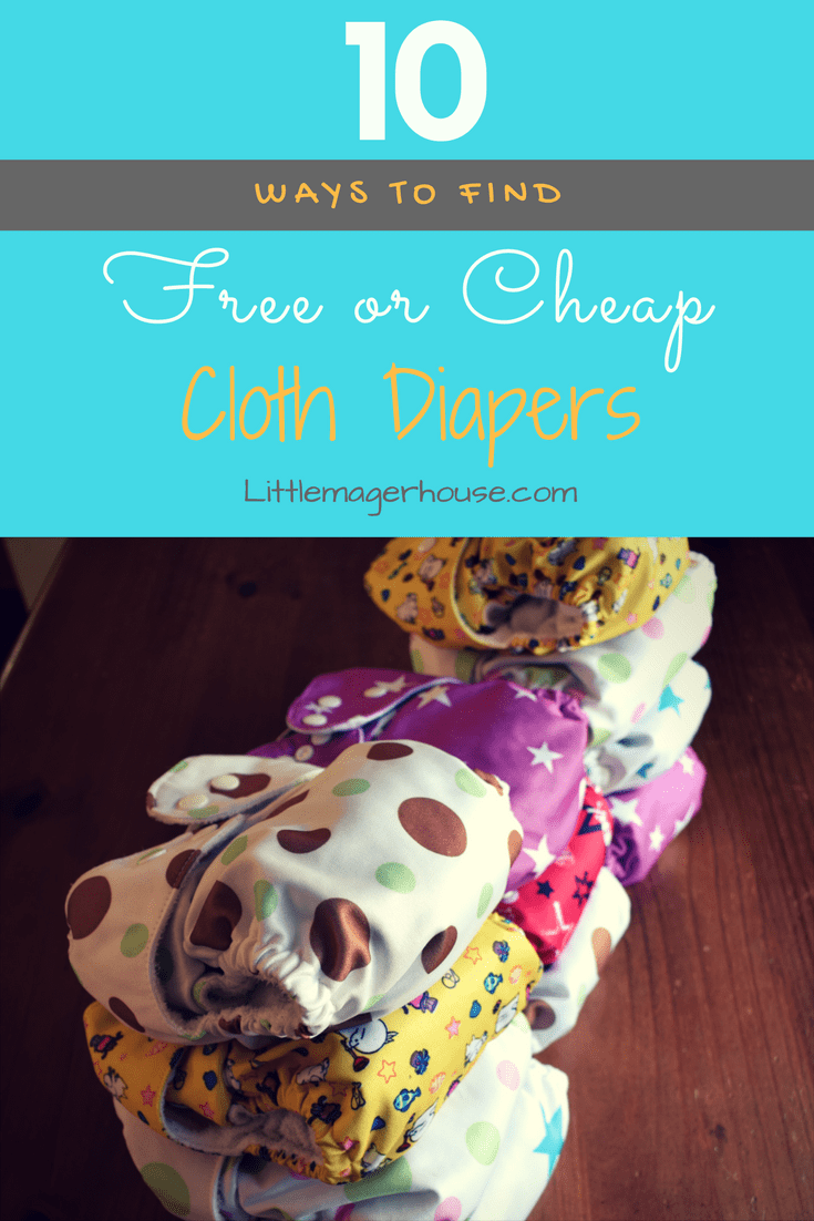 Cheap Cloth Diapers - 10 Tips To Getting Them Free Or Cheap