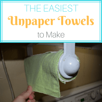 The Easiest DIY Unpaper Towels