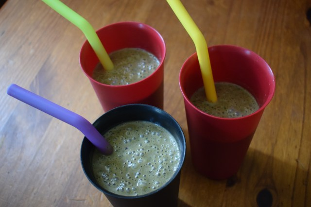 Big Batch Peanut Butter Chocolate Smoothies - No Measure