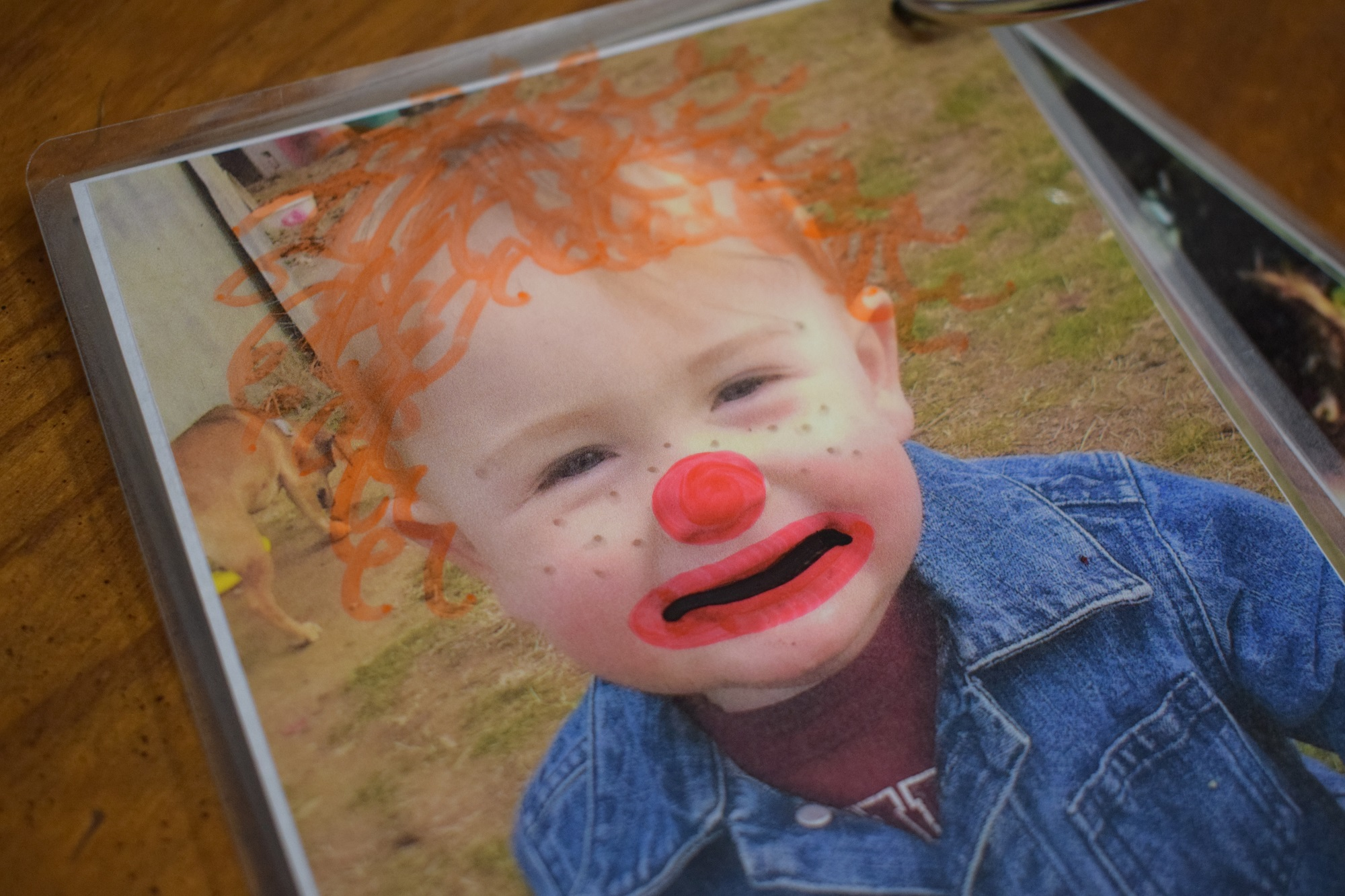 DIY Baby-Proof Dry-Erase Photo Album