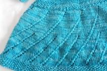 Close-up of Lace Swirl Skirt