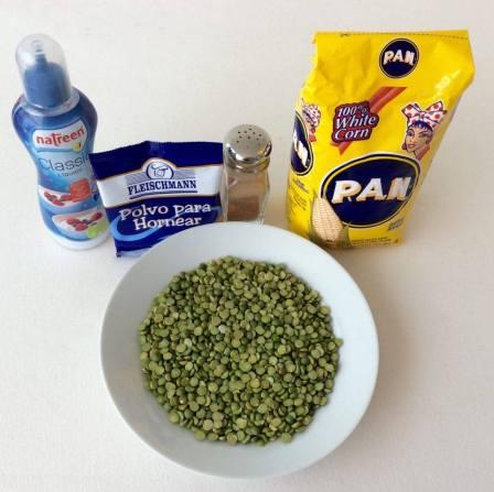 Ingredientes mapachinas