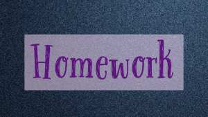 Back to School season and the homework begins littlemissblog.com