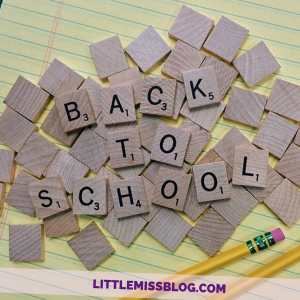 Back to School season...are you ready? Littlemissblog.com