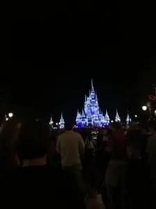 Magic Kingdoms Castle at Night WDW
