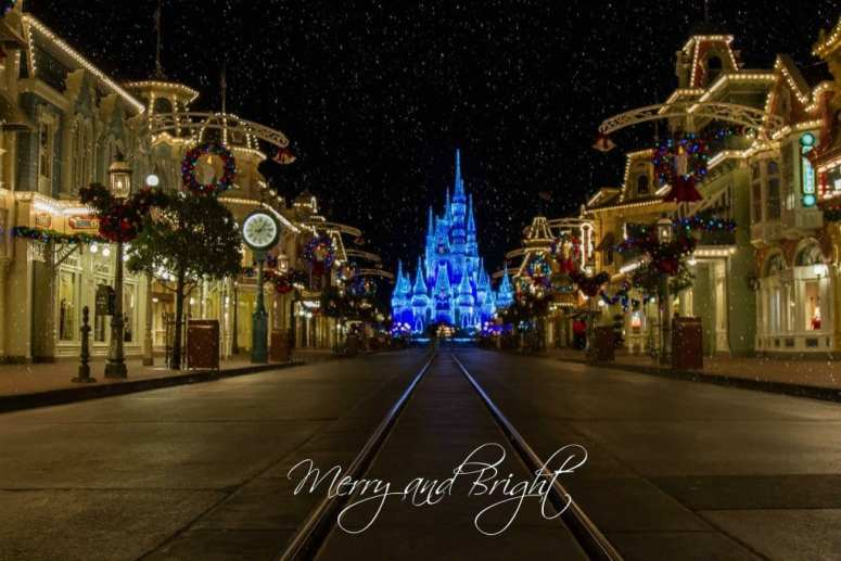 Merry and Bright Magic Kingdom Picture by Magical Pix by Candi