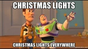 Toy Story Christmas Lights Everywhere
