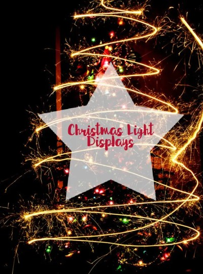 Christmas Light Displays-Little Miss Blog