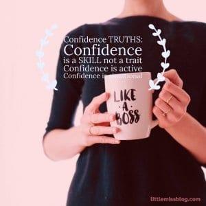 Confidence Truths. Dispelling the myths. littlemissblog.com