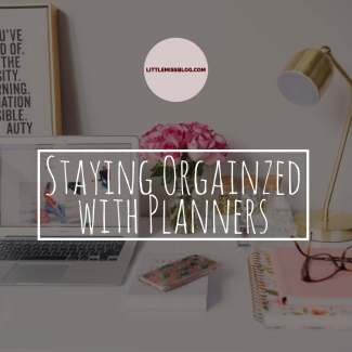 Staying Organized with Planners