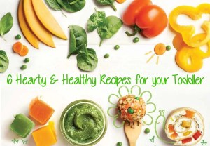 Heathly Recipes for Babies and Toddlers