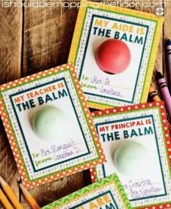 Teacher and Aide Gifts. Teacher Appreciation Day littlemissblog.com