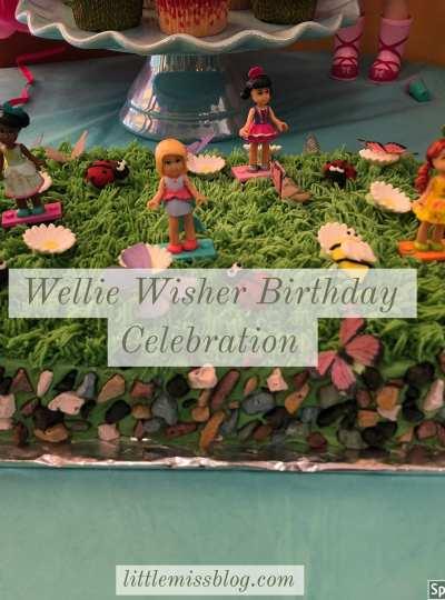 WellieWisher Birthday Party littlemissblog.com