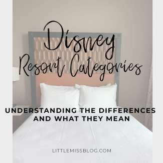 Disney Resort Categories and What They mean