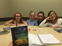 my little book club I'm leading!