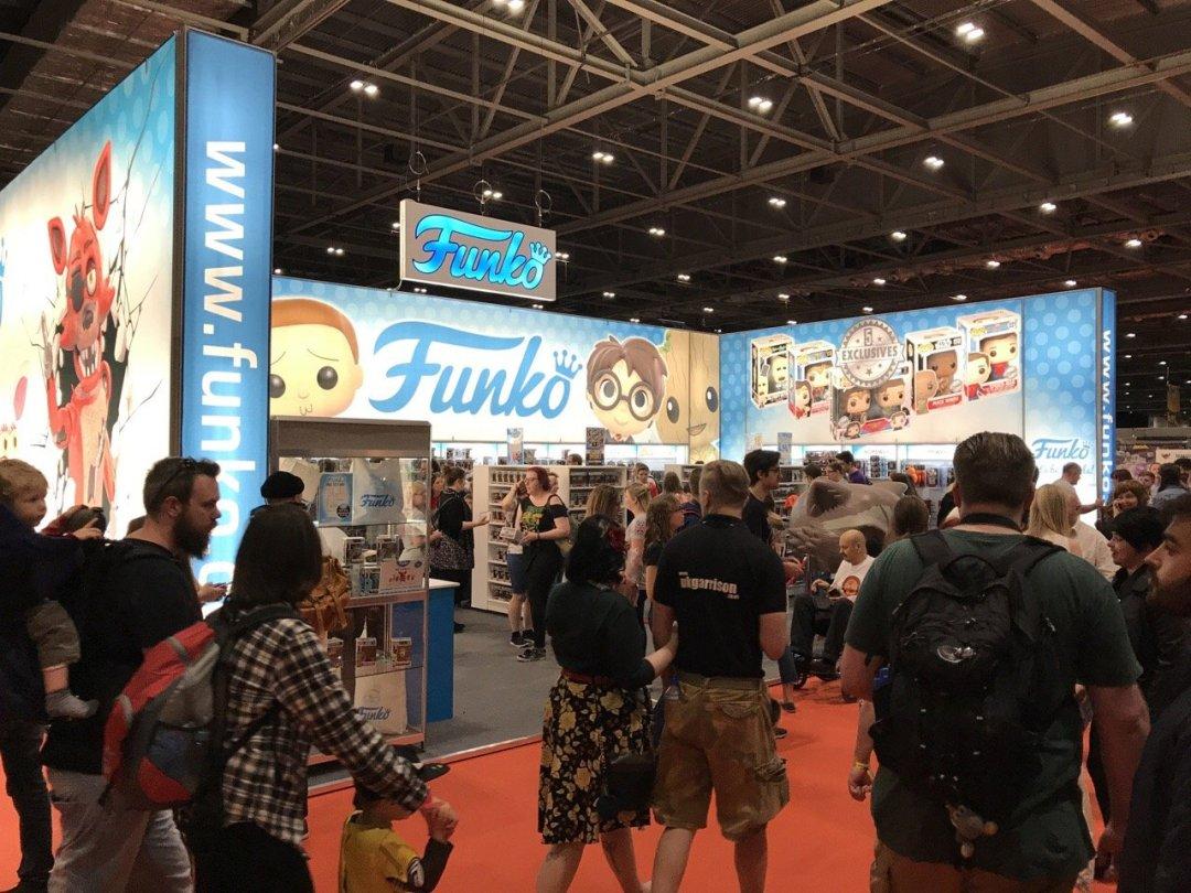 Comic Con for kids Funko pop vinyl stall