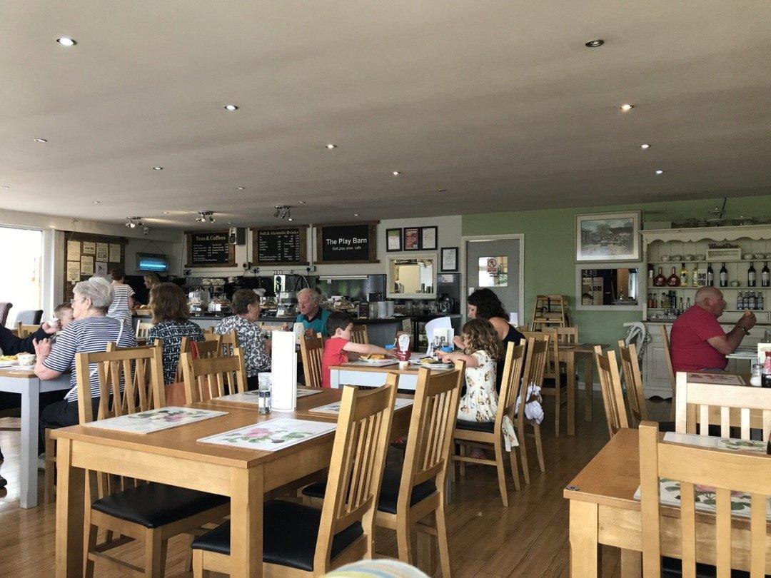 Farms in Essex - White Elm Petting Farm tea room