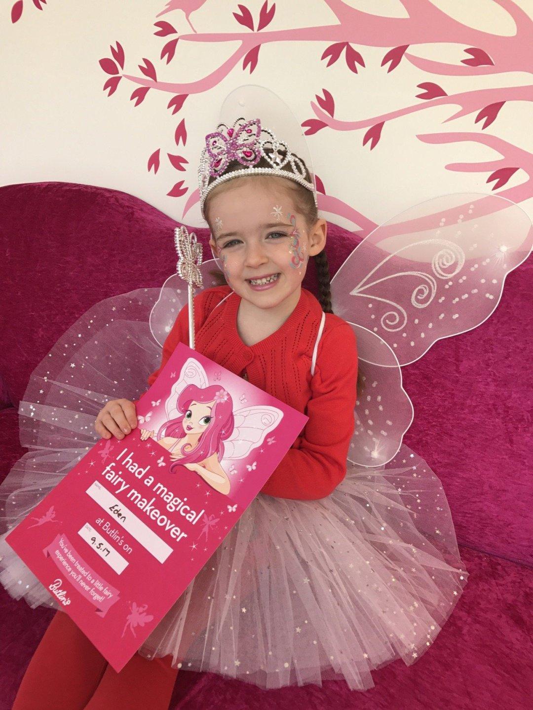 Butlins Bognor fairy makeover