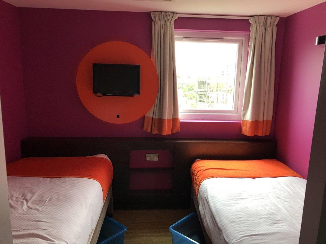 Butlins Bognor The ocean hotel room