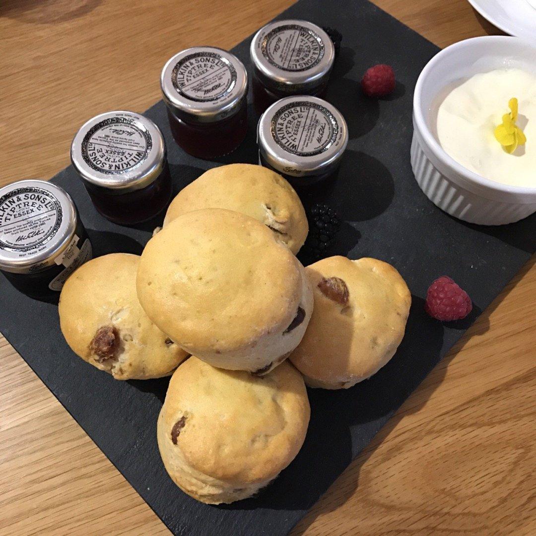 Afternoon Teas in Essex The Chichester Scones