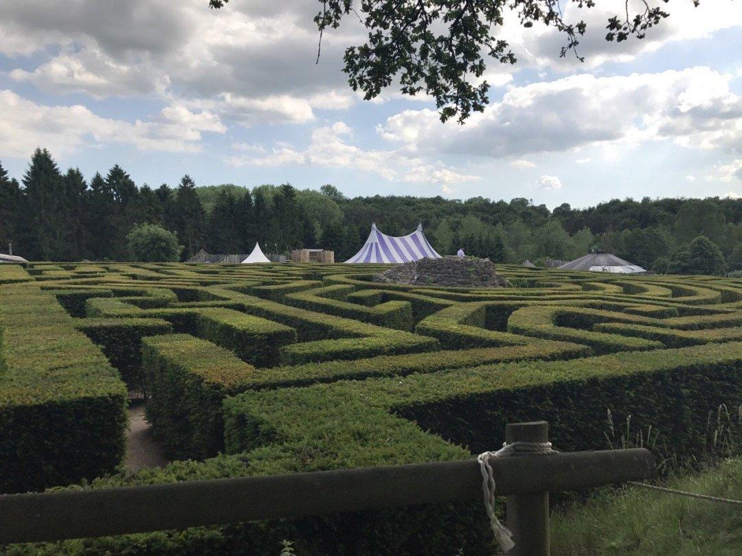 Leeds Castle maze
