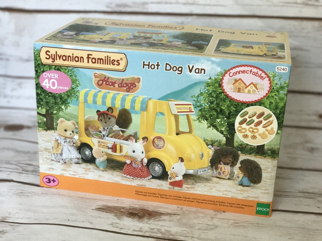 Sylvanian Families Hot Dog Van Box