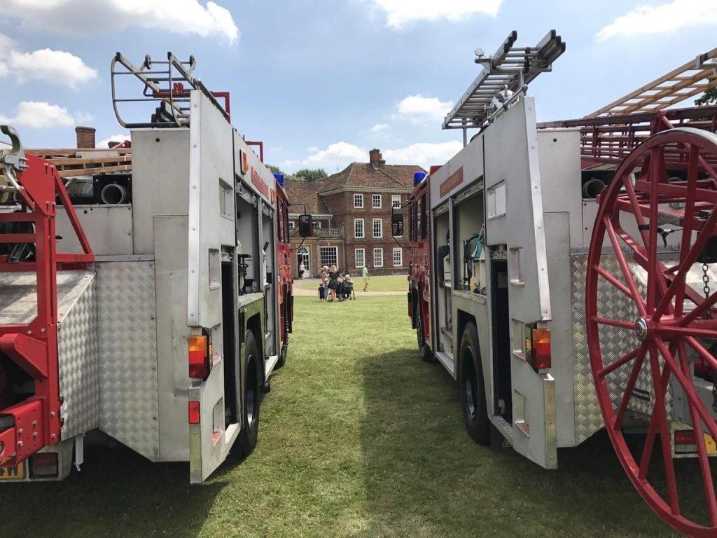 Lullingstone Castle fire engine rally