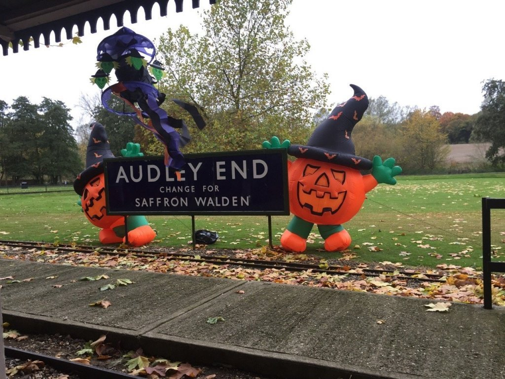 Audley End at Halloween Half Term