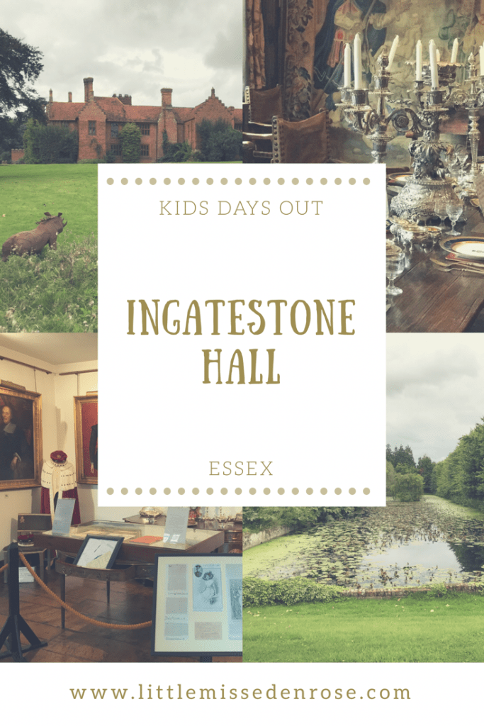 Ingatestone Hall Pinterest